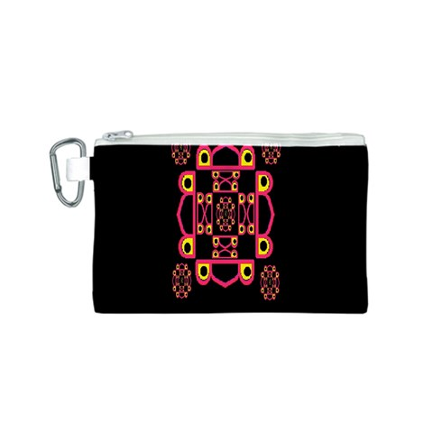 LETTER R Canvas Cosmetic Bag (S)