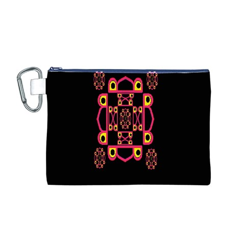 LETTER R Canvas Cosmetic Bag (M)