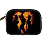 Heart Love Flame Girl Sexy Pose Digital Camera Cases Front