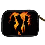Heart Love Flame Girl Sexy Pose Digital Camera Cases Back