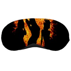 Heart Love Flame Girl Sexy Pose Sleeping Masks