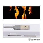 Heart Love Flame Girl Sexy Pose Memory Card Reader (Stick)  Front