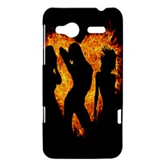 Heart Love Flame Girl Sexy Pose HTC Radar Hardshell Case
