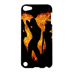 Heart Love Flame Girl Sexy Pose Apple iPod Touch 5 Hardshell Case