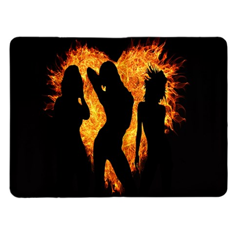 Heart Love Flame Girl Sexy Pose Kindle Fire (1st Gen) Flip Case