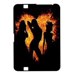 Heart Love Flame Girl Sexy Pose Kindle Fire HD 8.9