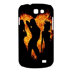 Heart Love Flame Girl Sexy Pose Samsung Galaxy Express I8730 Hardshell Case