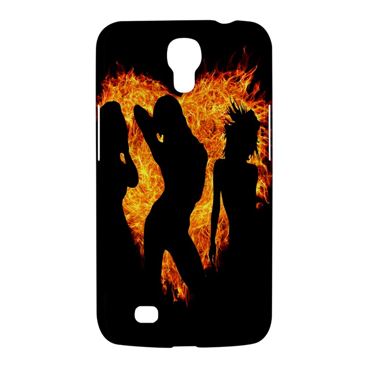 Heart Love Flame Girl Sexy Pose Samsung Galaxy Mega 6.3  I9200 Hardshell Case