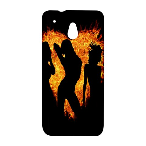 Heart Love Flame Girl Sexy Pose HTC One Mini (601e) M4 Hardshell Case