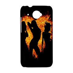 Heart Love Flame Girl Sexy Pose HTC Desire 601 Hardshell Case