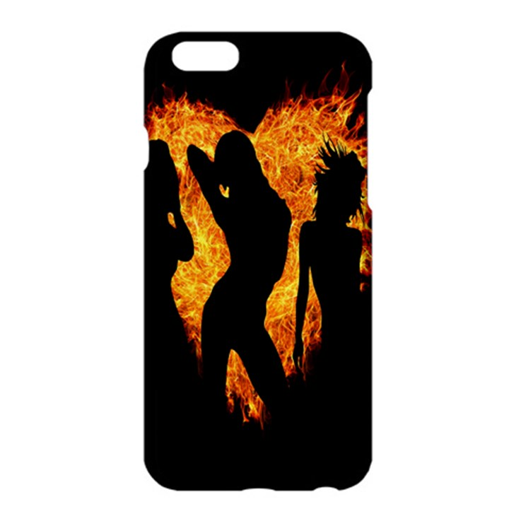 Heart Love Flame Girl Sexy Pose Apple iPhone 6 Plus/6S Plus Hardshell Case