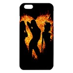 Heart Love Flame Girl Sexy Pose iPhone 6 Plus/6S Plus TPU Case Front