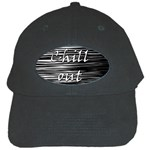 Black an white  Chill out  Black Cap Front