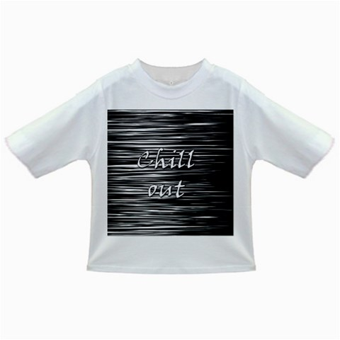 Black an white  Chill out  Infant/Toddler T-Shirts