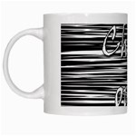 Black an white  Chill out  White Mugs Left