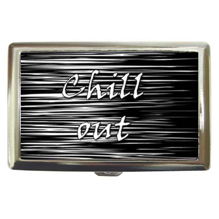 Black an white  Chill out  Cigarette Money Cases