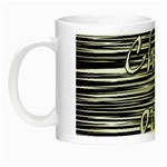 Black an white  Chill out  Night Luminous Mugs Left