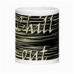 Black an white  Chill out  Night Luminous Mugs Center
