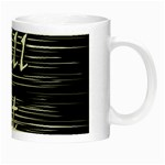 Black an white  Chill out  Night Luminous Mugs Right