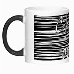 Black an white  Chill out  Morph Mugs Left
