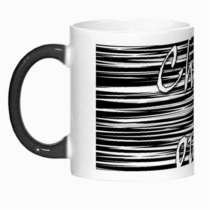 Black an white  Chill out  Morph Mugs