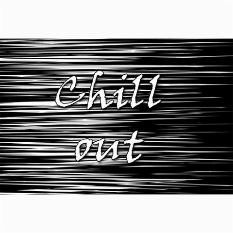 Black an white  Chill out  Collage Prints