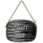 Black an white  Chill out  Chain Purses (Two Sides)  Back