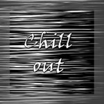 Black an white  Chill out  Mini Canvas 8  x 8  8  x 8  x 0.875  Stretched Canvas