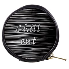 Black An White  chill Out  Mini Makeup Bags