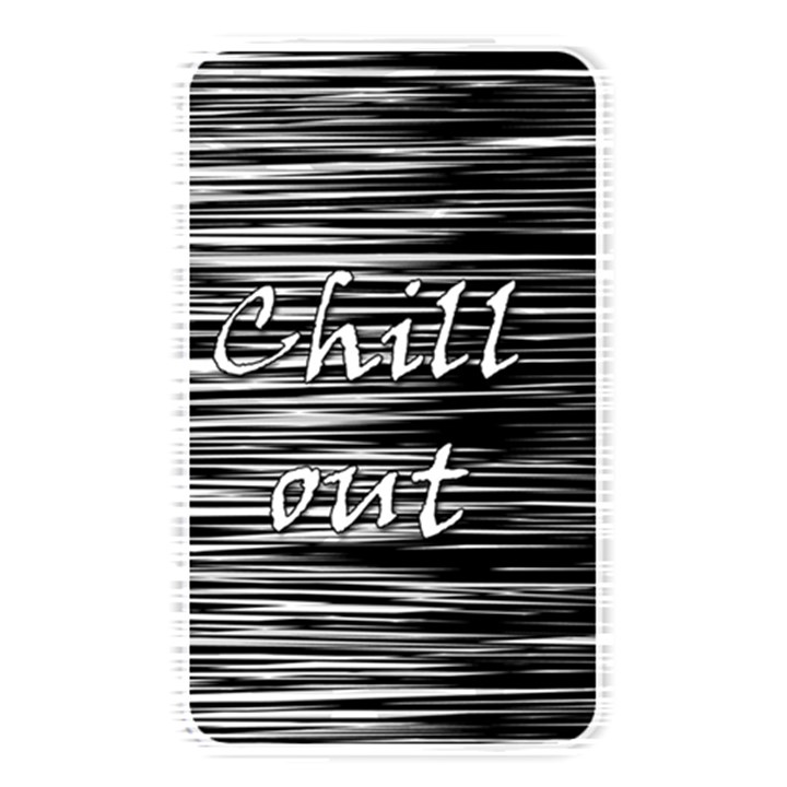 Black an white  Chill out  Memory Card Reader