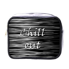 Black an white  Chill out  Mini Toiletries Bags