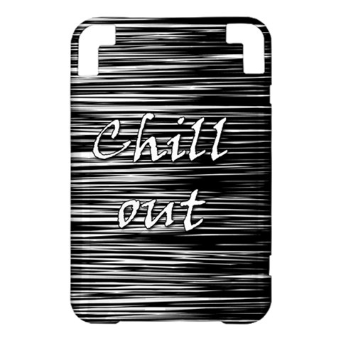 Black an white  Chill out  Kindle 3 Keyboard 3G