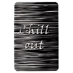 Black an white  Chill out  Kindle Fire (1st Gen) Hardshell Case