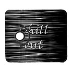 Black an white  Chill out  Samsung Galaxy S  III Flip 360 Case Front