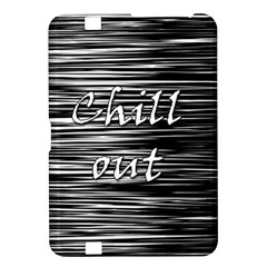 Black An White  chill Out  Kindle Fire Hd 8 9