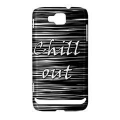 Black an white  Chill out  Samsung Ativ S i8750 Hardshell Case