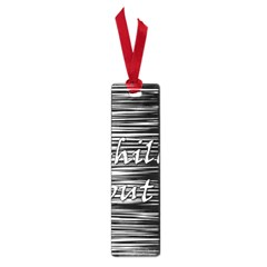 Black an white  Chill out  Small Book Marks