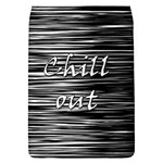 Black an white  Chill out  Flap Covers (L)  Front