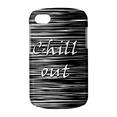 Black an white  Chill out  BlackBerry Q10