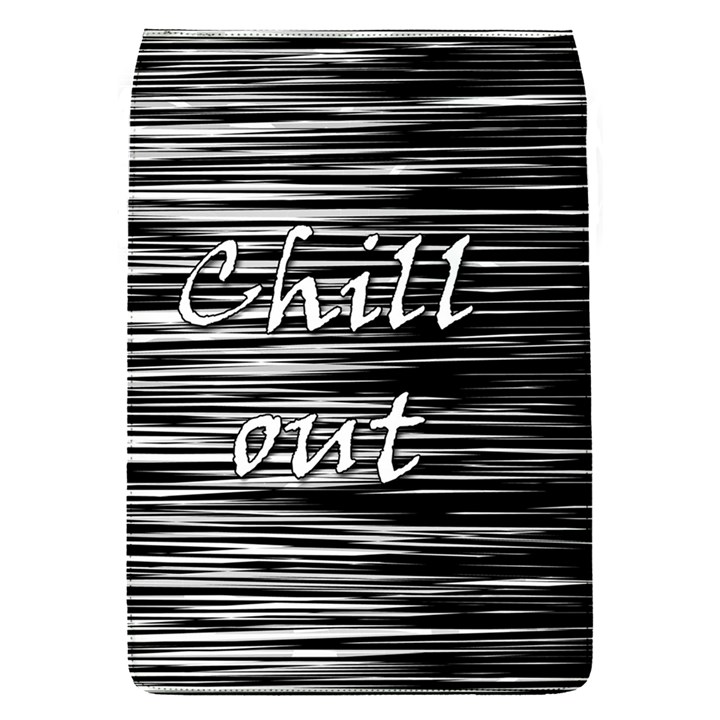 Black an white  Chill out  Flap Covers (S)