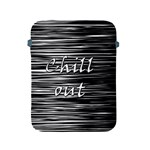 Black an white  Chill out  Apple iPad 2/3/4 Protective Soft Cases Front