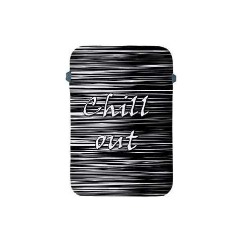 Black an white  Chill out  Apple iPad Mini Protective Soft Cases