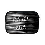 Black an white  Chill out  Apple iPad Mini Zipper Cases Front