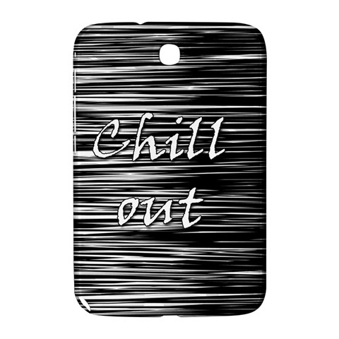Black an white  Chill out  Samsung Galaxy Note 8.0 N5100 Hardshell Case