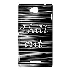 Black an white  Chill out  Sony Xperia C (S39H)