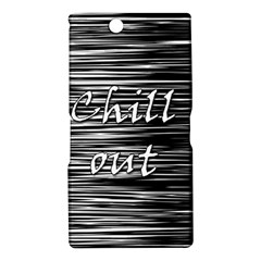 Black an white  Chill out  Sony Xperia Z Ultra