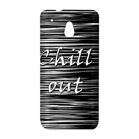 Black an white  Chill out  HTC One Mini (601e) M4 Hardshell Case