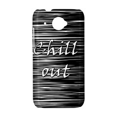 Black an white  Chill out  HTC Desire 601 Hardshell Case
