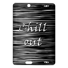 Black an white  Chill out  Amazon Kindle Fire HD (2013) Hardshell Case