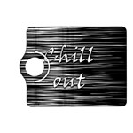 Black an white  Chill out  Kindle Fire HD (2013) Flip 360 Case Front